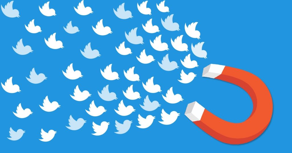 real Twitter followers