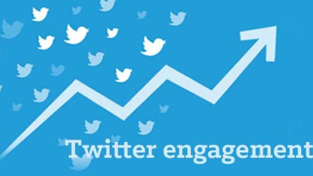 what is a media engagement on twitter