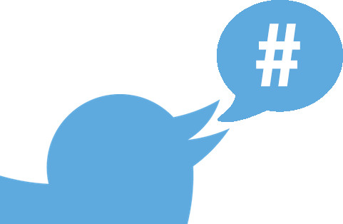 how to follow hashtags on twitter