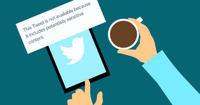 how to see sensitive content on twitter