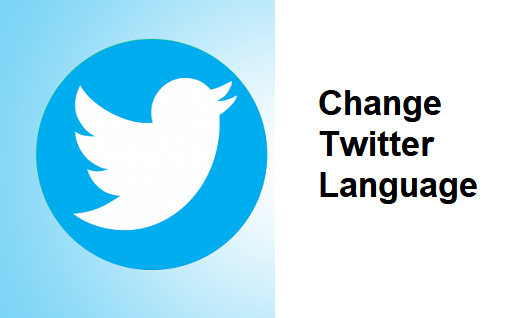 how to change your Twitter language