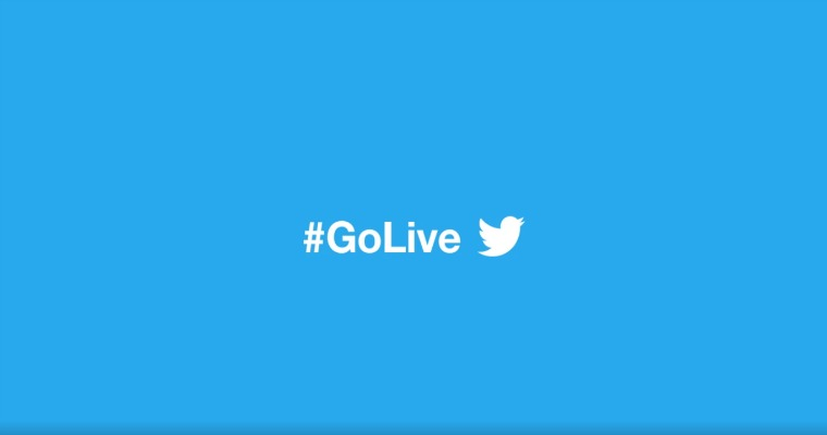how to go live on Twitter